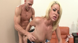 Horny pornstar Johnny Sins has a soft spot for hard sex