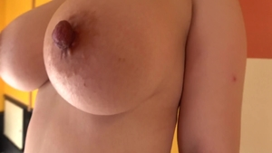 Busty asian rough doggy fuck