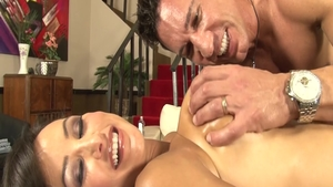 Fucked in the ass porn amongst big tits surprise Lisa Ann