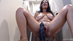 Solo naughty & kinky stepmom extreme pumping live on webcam