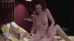 Lina Romay in lingerie threesome