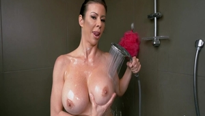 Good fucking in company with big tits babe Alexis Fawx