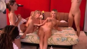 Orgy with wet mature Carol Cox