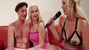 Blowjob after interview