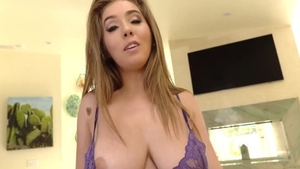 Pussy sex in the company of big boobs pawg