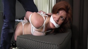 Sexy mature has a passion for tied up