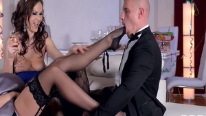 Rough sex together with Tina Kay and Dolly Diore