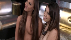 Young & sexy Tiffany Doll threesome