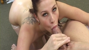 Gianna Michaels in hardcore oiled cumshot