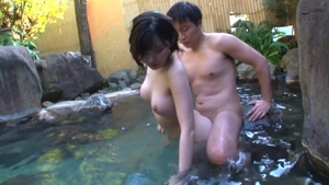 Squirting big boobs japanese in HD