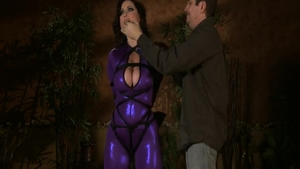 Babe Christina Carter goes for hardcore sex wearing latex