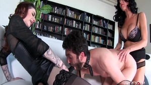 Charming Veronica Avluv & Abbey Brooks ass pounded sex tape