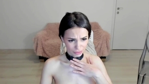 Deepthroat escorted by huge tits russian babe