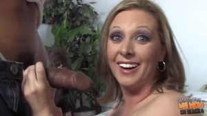 Hard pounding in the company of big ass MILF