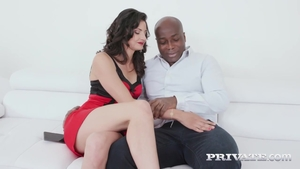 Raw sex in company with brunette Katy Rose