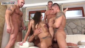 Mea Melone group sex