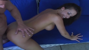 Rough fucking in company with big tits brunette Richelle Ryan