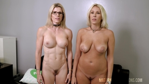 Nailing with hairy Cory Chase & Nikki Brooks