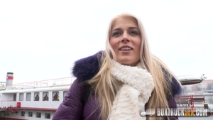 Sweet blonde Sweet Cat feels the need for real sex