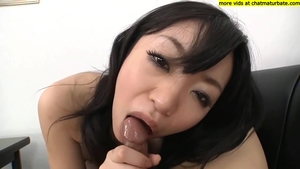 Big boobs asian in pantyhose in HD