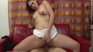 Hottest french chick cumshot HD