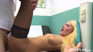 Very hot doctor wishes plowing hard in HD