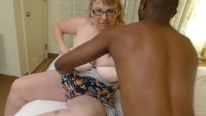 Large tits BBW wishes for hard slamming HD