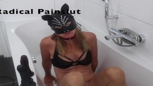 'Drooling, Spitting, Pissing And Squirting Degraded obedient Painslut'