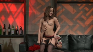 Remy Lacroix in tight stockings POV cumshot
