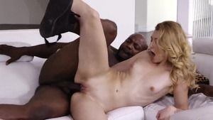 Super sexy Nat Turner plowed by big black cock stepfather