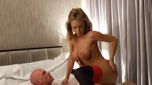 Nicole Aniston rammed hard