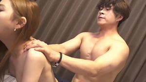 Slamming hard together with asian celebrity
