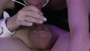 Babe has a thing for plowing hard in collar in HD