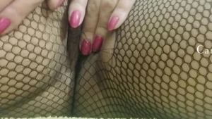 Nailed rough with tight amateur