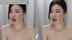 Hard pounding with young korean babe