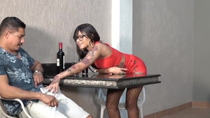 Interracial banging pierced latina HD