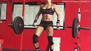 Super sexy babe rough fitness