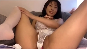 Chinese female orgasm live on webcam