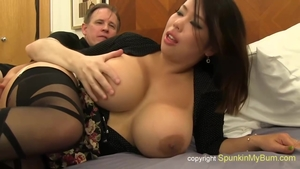 Ass fucking big boobs asian in sexy lingerie