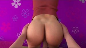 Teen chick wishes slamming hard HD