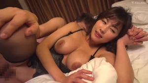 Large tits wild asian stepmom in tight stockings toys action