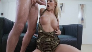 Raw sex along with big tits czech pornstar Cindy Dollar