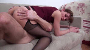 Big butt very nice french married chick orgasm
