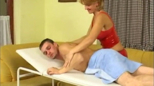 Sex scene with young redhead