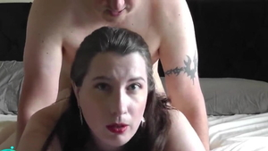 Sex scene along with chubby german wife