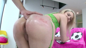 Raw sex scene starring delicious blonde Lisey Sweet