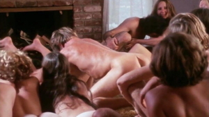 Orgy escorted by horny