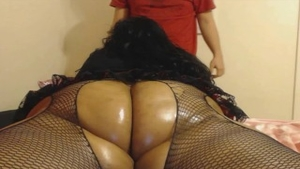 Booty BBW goes in for hard pounding