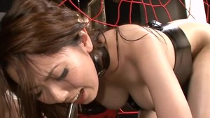 Fetish plowing hard next to asian Yui Hatano