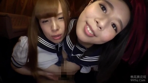 Censored nailing escorted by asian brunette